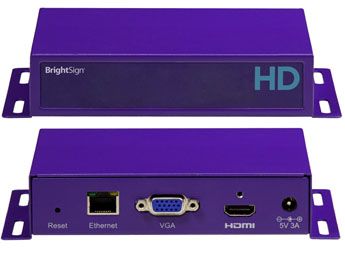 NEW - BrigtSign HD220 Networked (accessori inclusi)